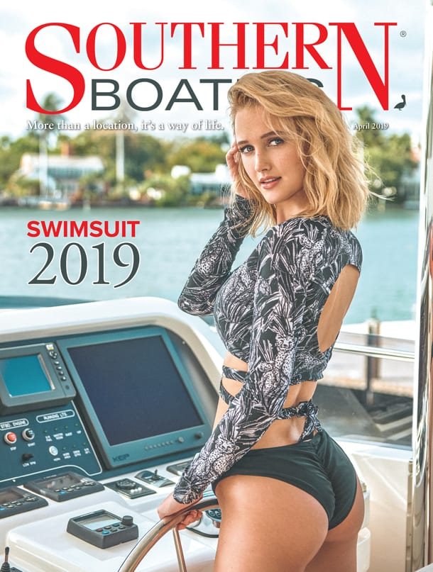 Southern Boating Magazine April Cover