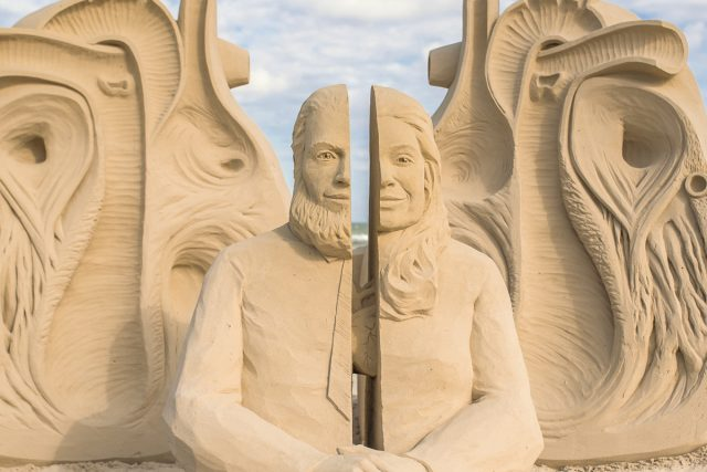 Texas Sandfest helps Spring on the Texas Gulf
