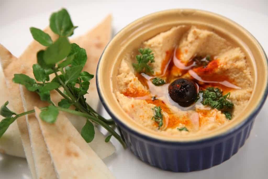 Greek Salad Hummus Dip