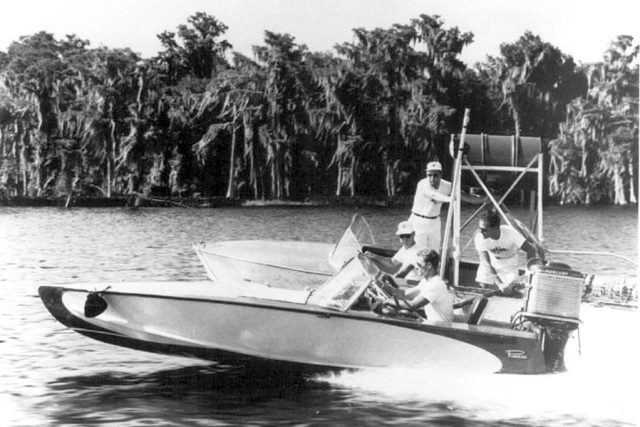 The mysterious lake x mercury Marine and the 400 HP outboard