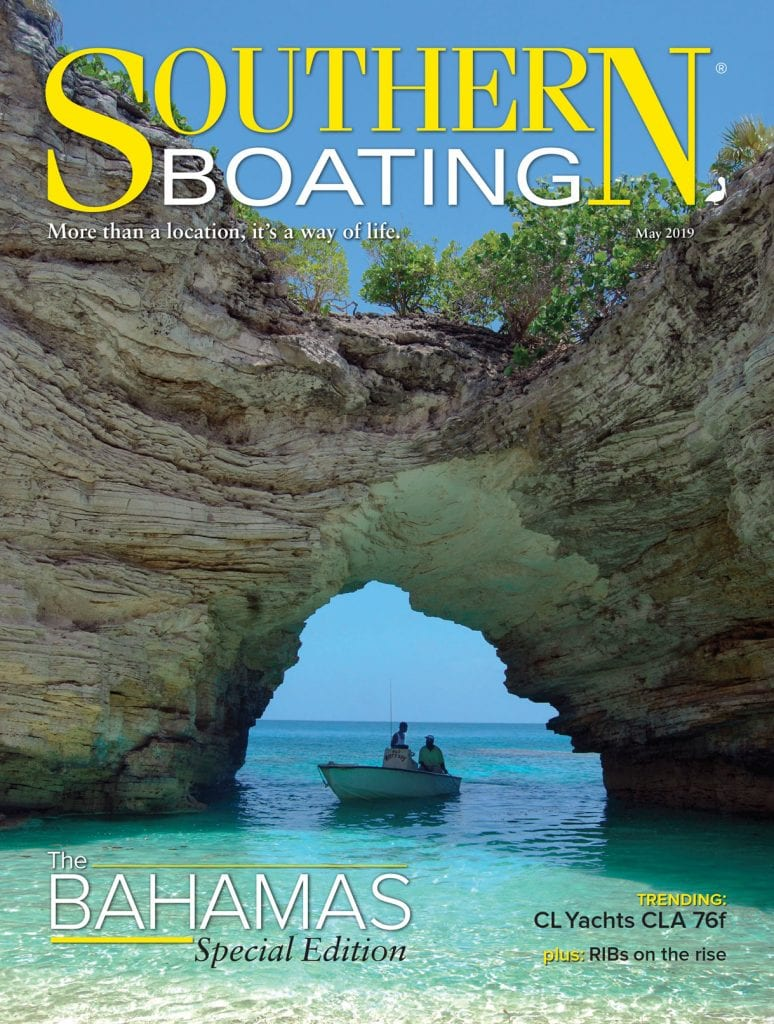 May 2019 Cover from Southern Boating Magazine