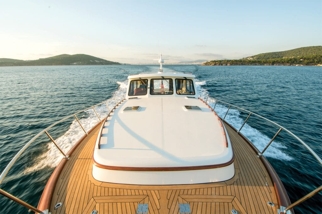 Vicem 65 IPS interior from Southern Boating