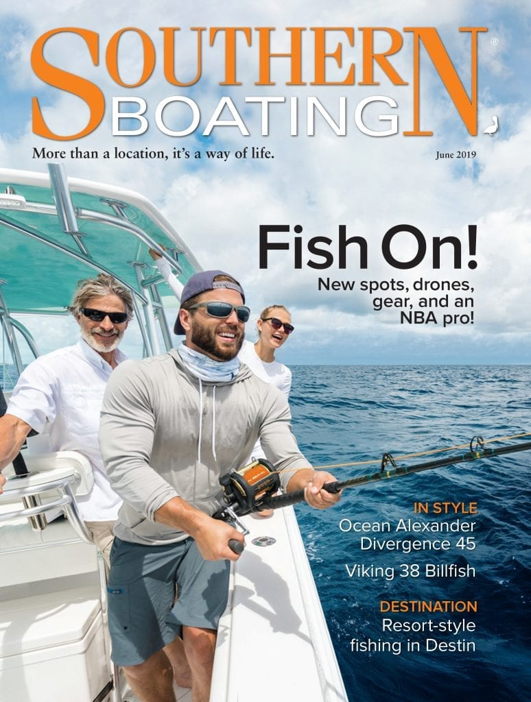 an image of Southern Boating June Cover