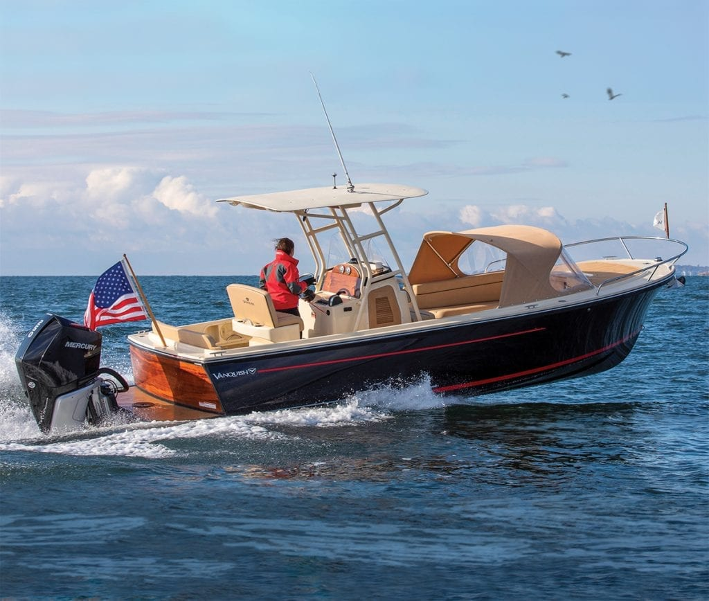 an image of the Vanquish 26 Center Console