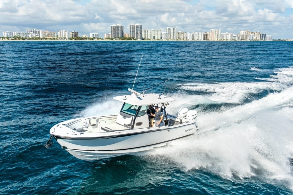 an image of the Blackfin 332CC