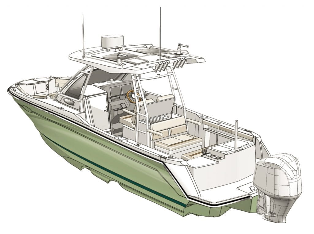 an image of the Cutwater 24 CW