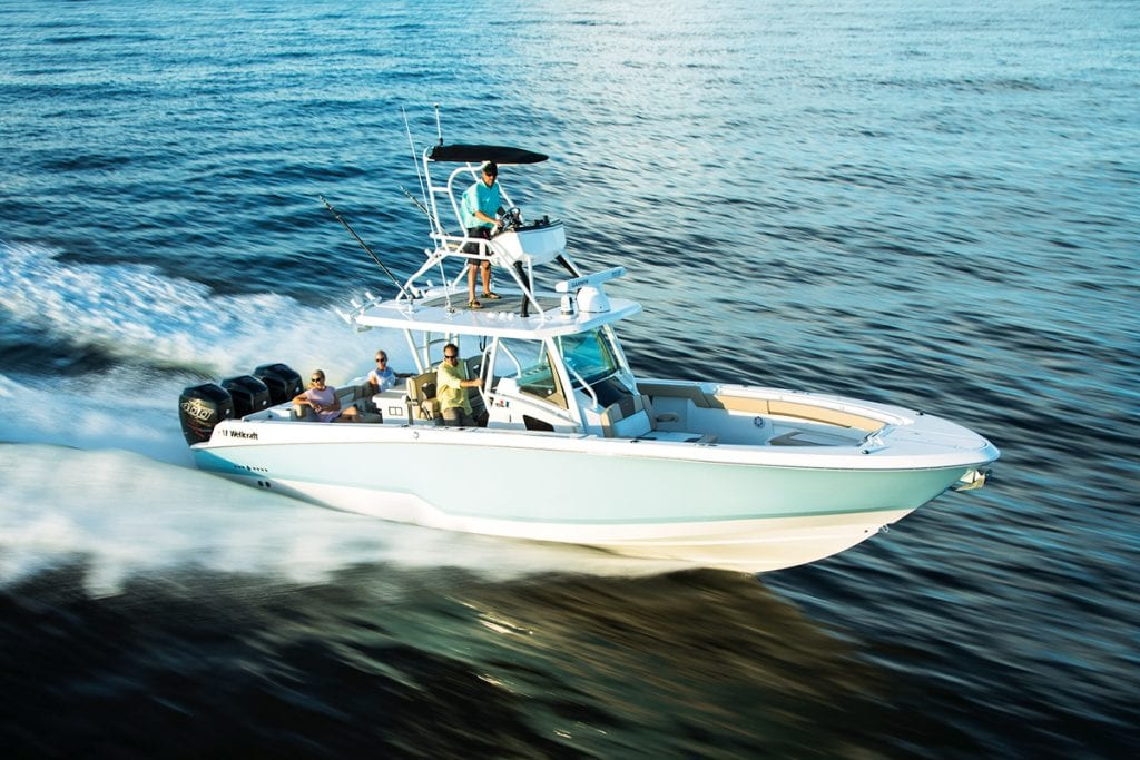 an image of the Wellcraft 352