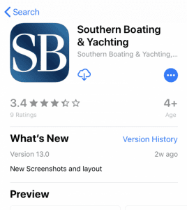 southern boating mobile app