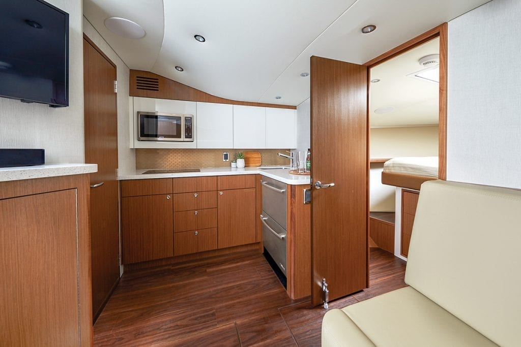 interior on the CABO 41