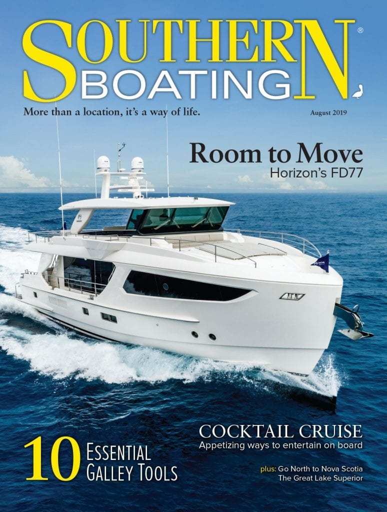 Southern Boating August 2019 Cover