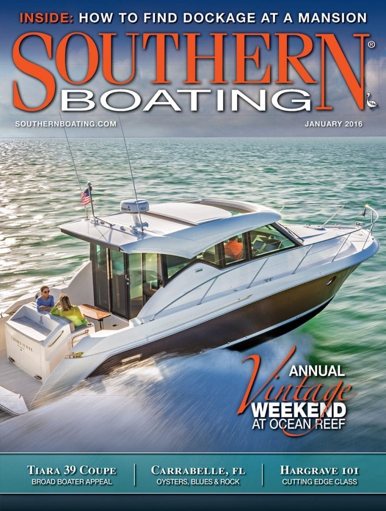 January 2016 cover Southern Boating