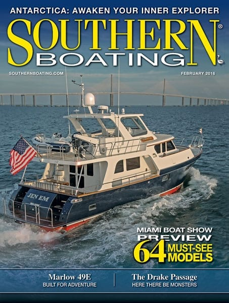 February 2016 Cover southern boating