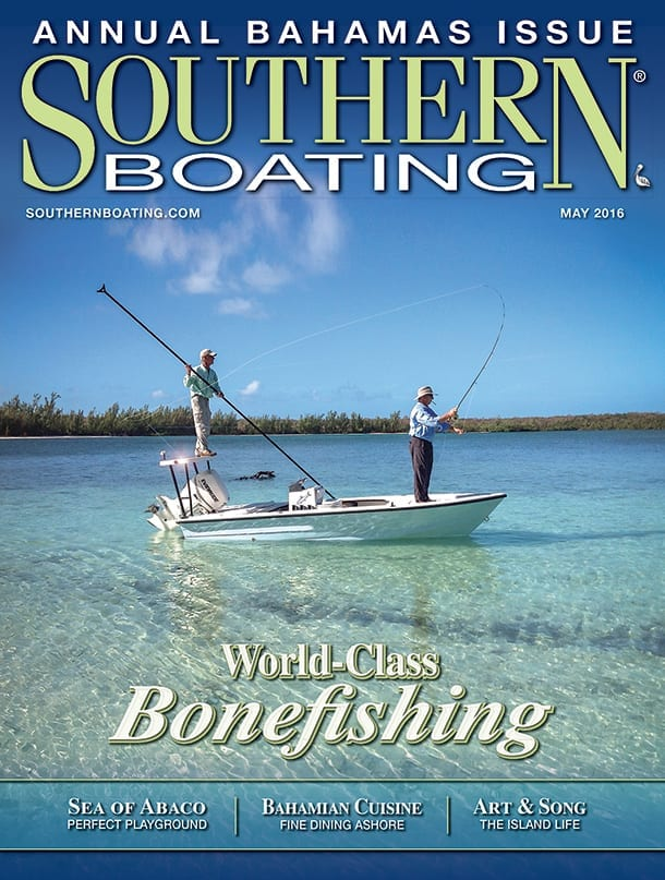 May 2106 Cover Southern Boating