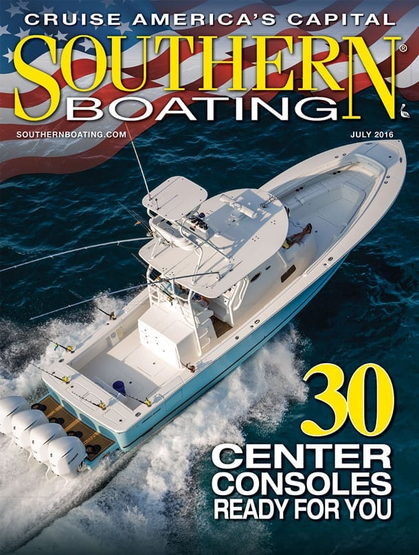 July 2016 Cover Southern Boating