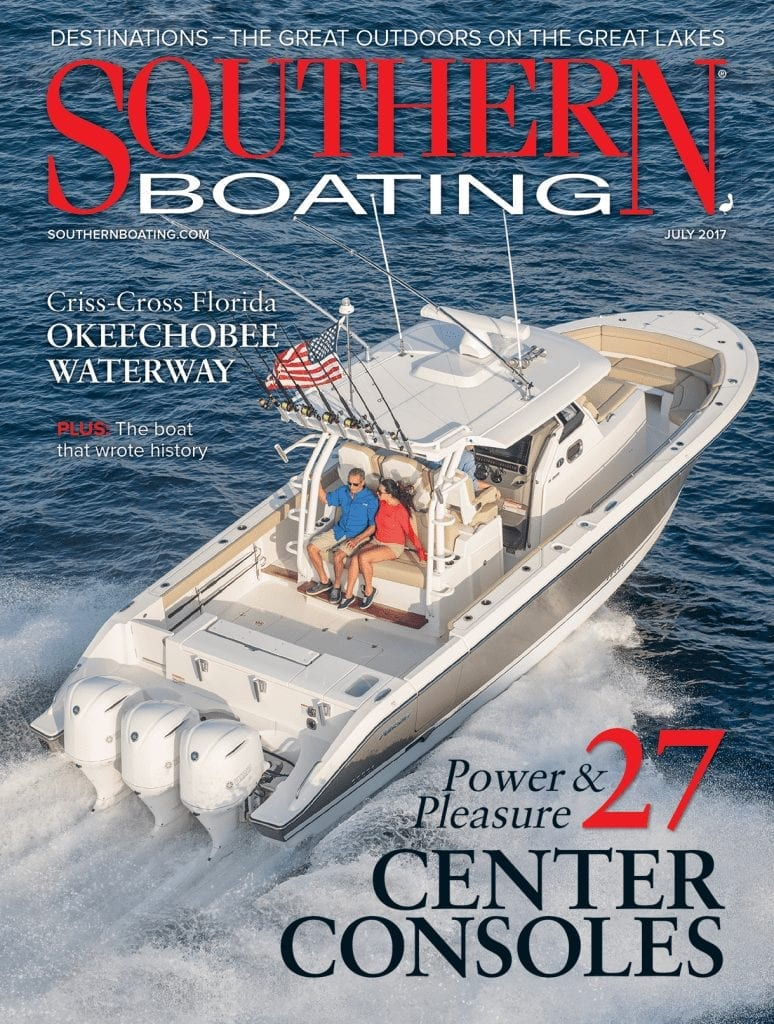 July 2017 Cover Southern Boating