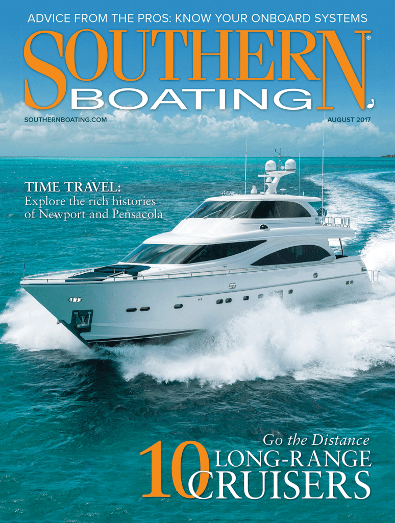 August 2017 Cover Southern Boating