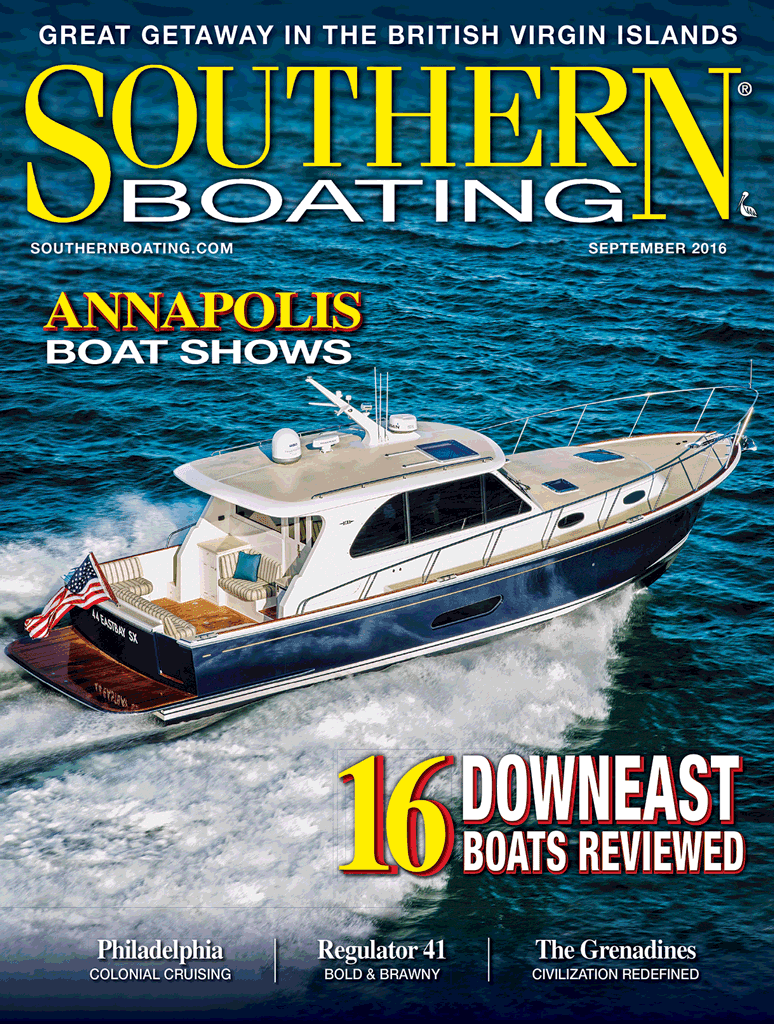 Southern Boating August 2016 Cover