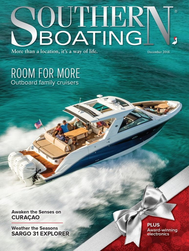 Southern Boating December 2018 cover