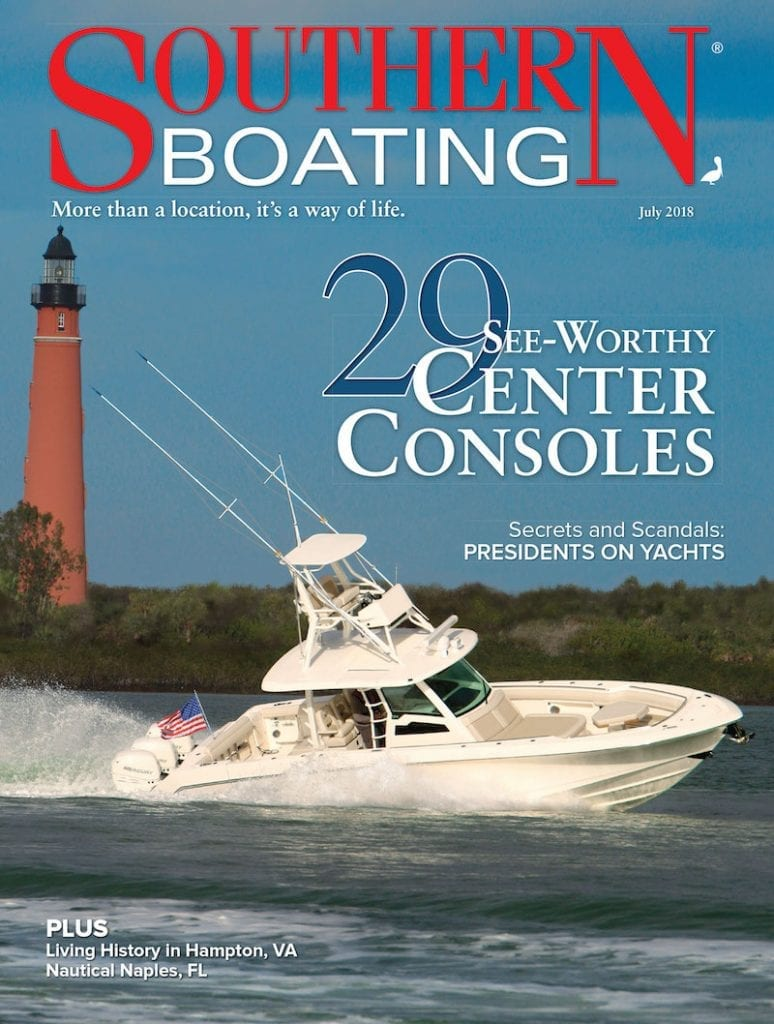 July 2018 Southern Boating Cover