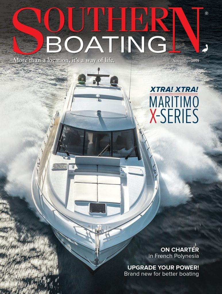 Southern Boating November 2018 cover