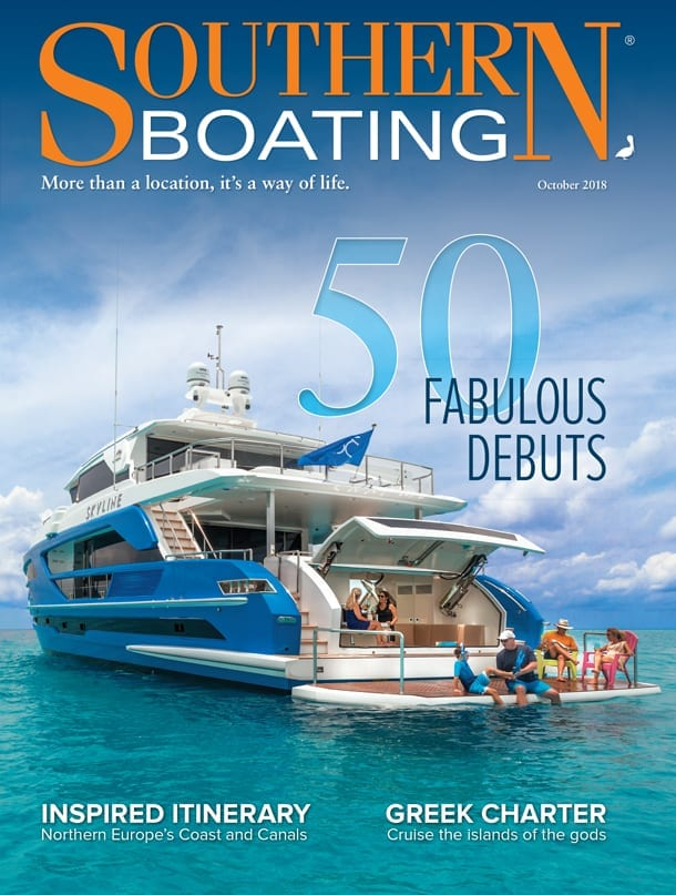 Southern Boating October 2018 cover