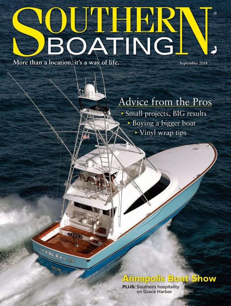 Southern Boating September 2018 cover
