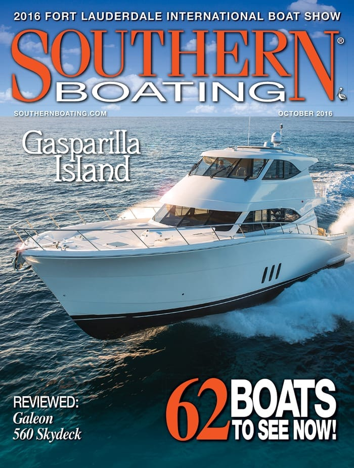 October 2016 cover Southern Boating