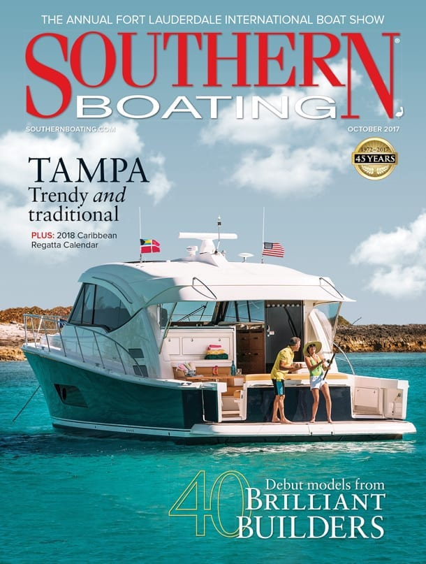 Southern Boating October 2017 cover