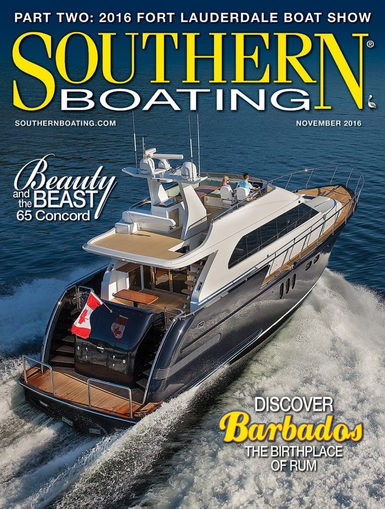 Southern Boating November 2016 cover