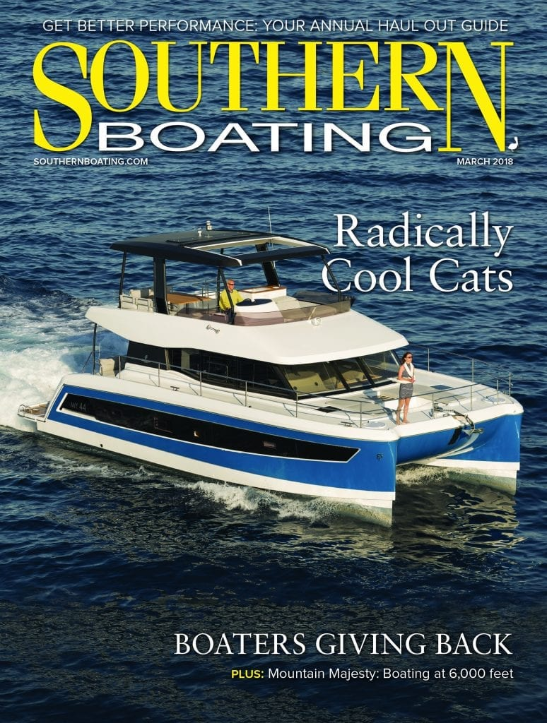 March 2018 Southern Boating Cover