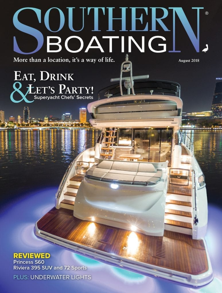 August 2018 Southern Boating Cover