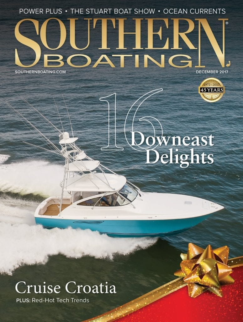 Southern Boating December 2017 cover