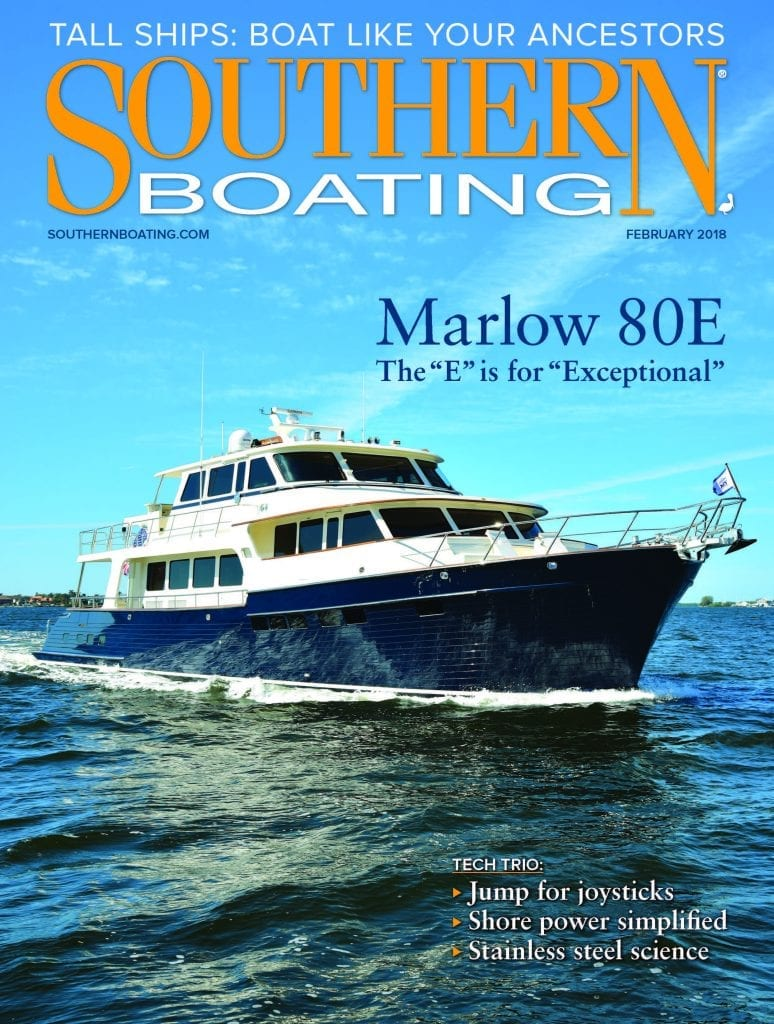 February 2018 Southern Boating Cover