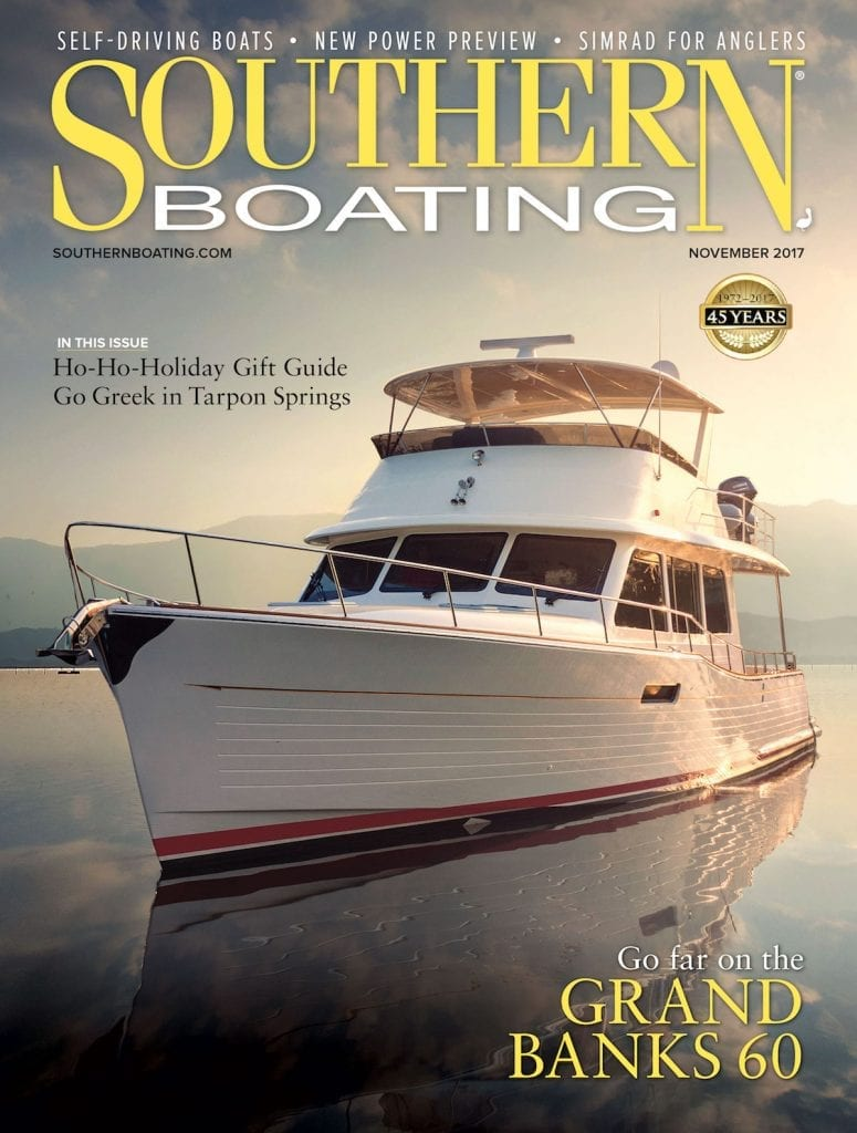 Southern Boating November 2017 cover